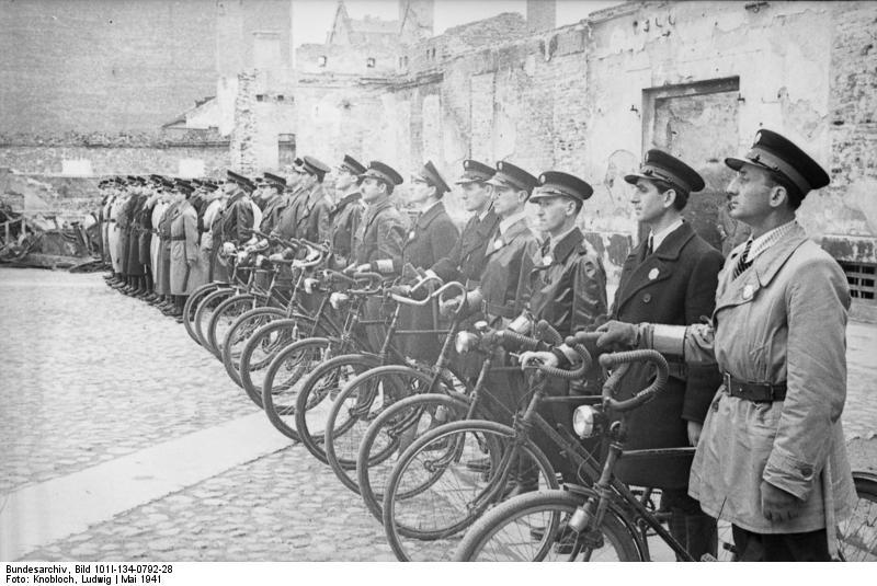 Polen, Ghetto Warschau, Ghettopolizei