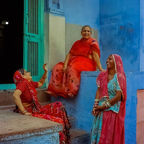 Women In Jodhpur India