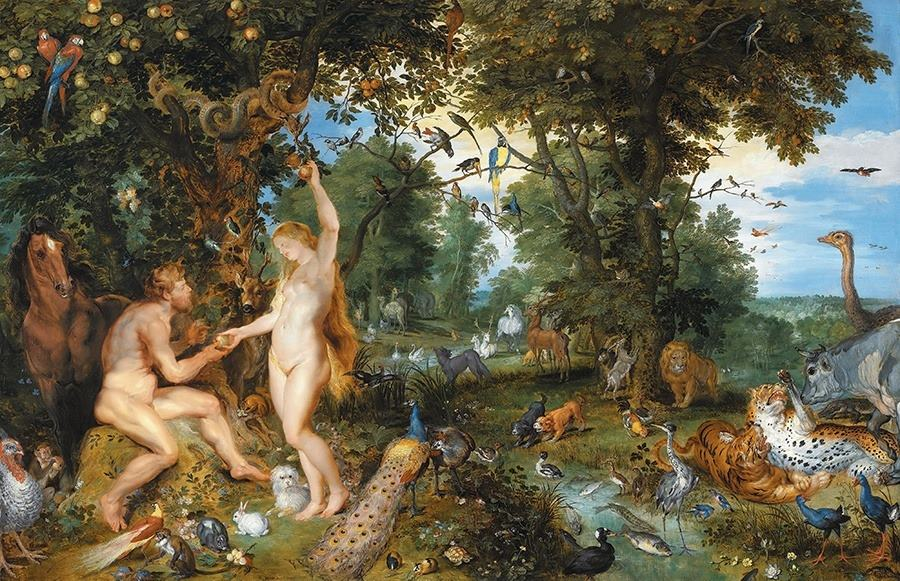 Left-Handedness Adam Eve