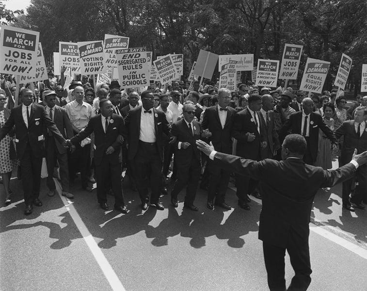 March On Washington Leaders