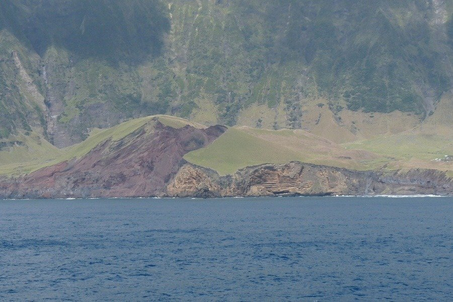 Ocean Steep Cliffs
