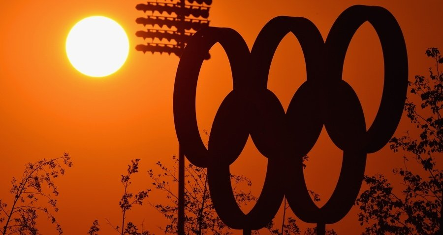 Olympic Rings Sun