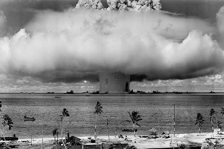Operation Crossroads Nuclear Testing