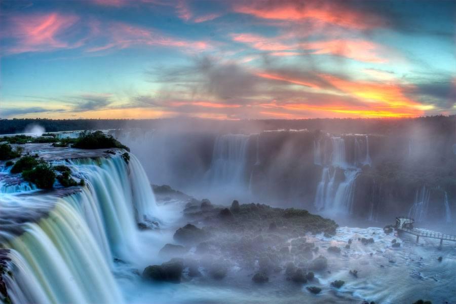 Iguaza Falls Orange Blaze