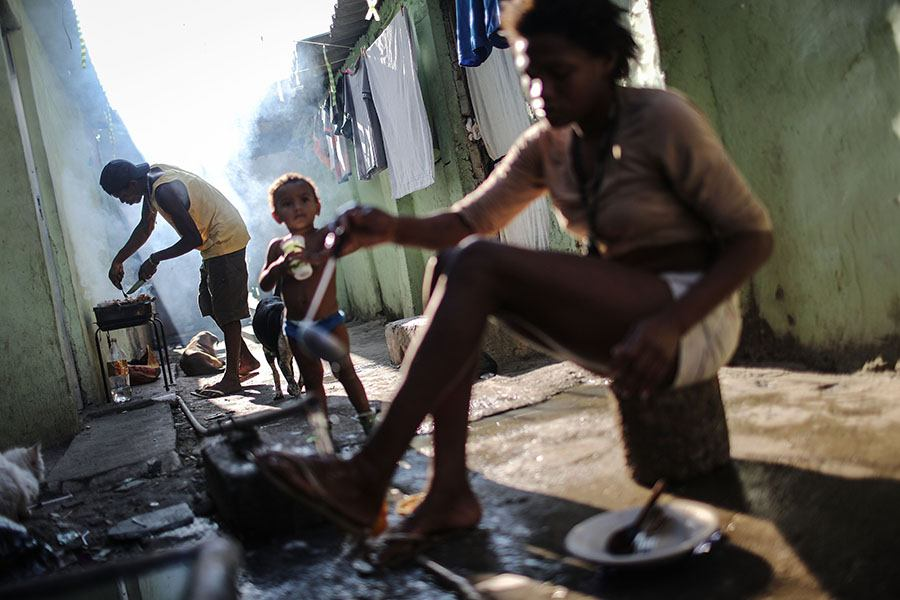 Poverty In La