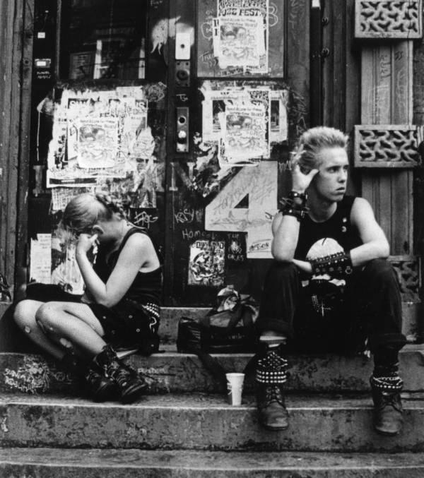 Punks In East Village