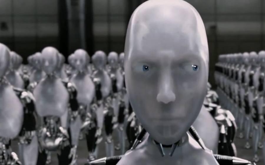 Robot Shifty Eyes