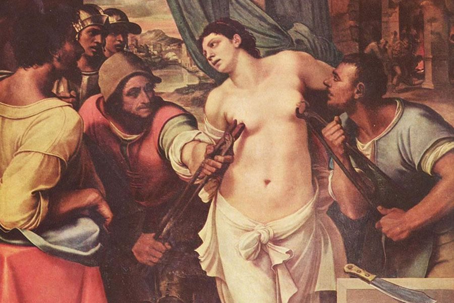 Saint Agatha Del Piombo