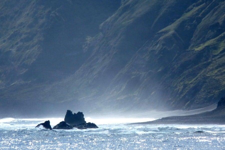 Shimmering Water Cliffs