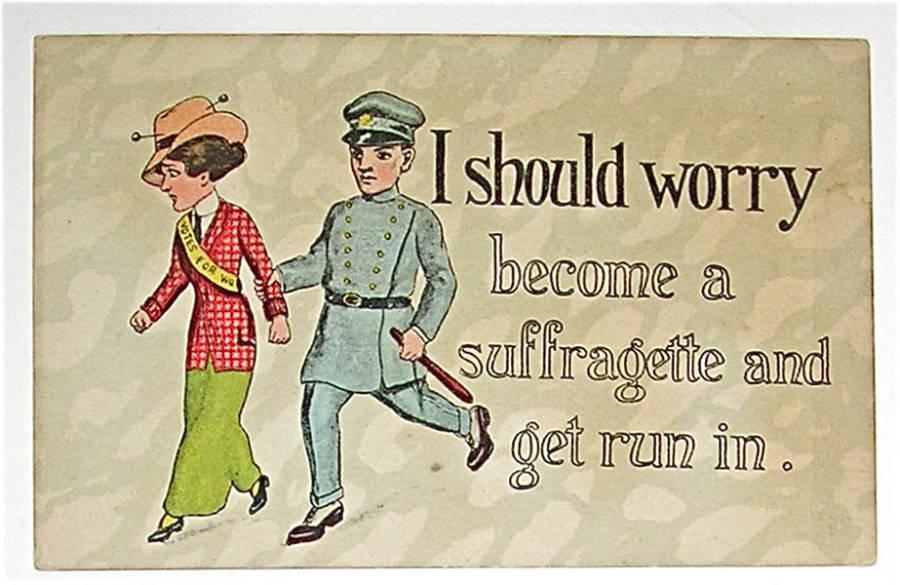 Suffragette Cop