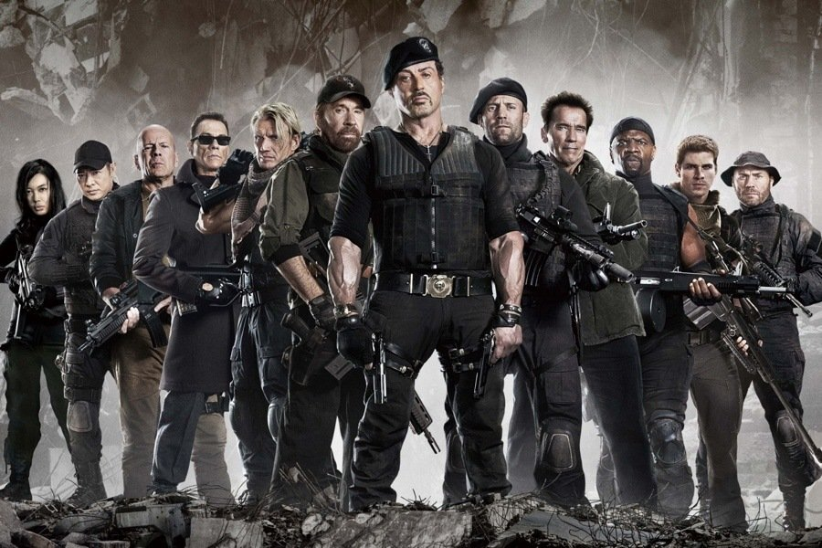 The Expendables 2 Cast