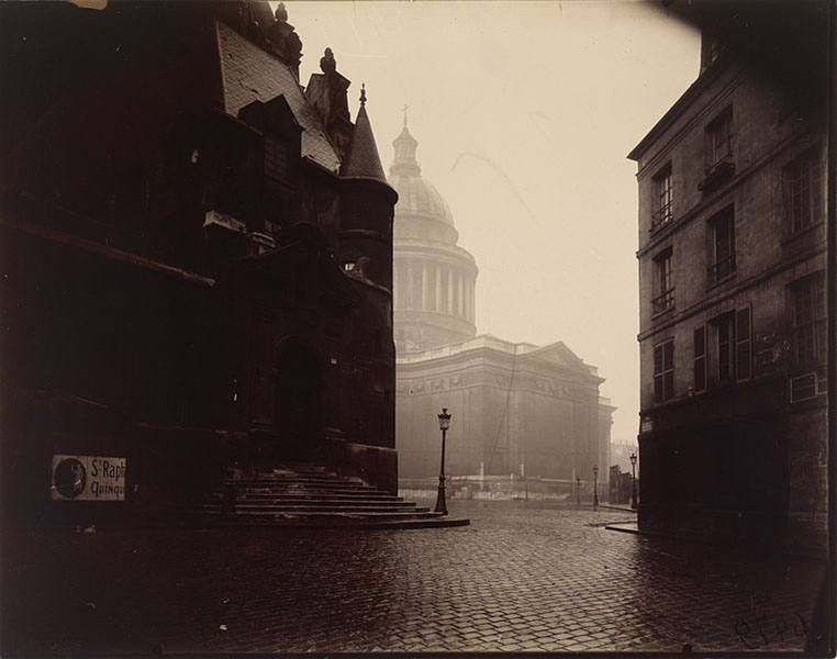 The Pantheon Eugene Atget