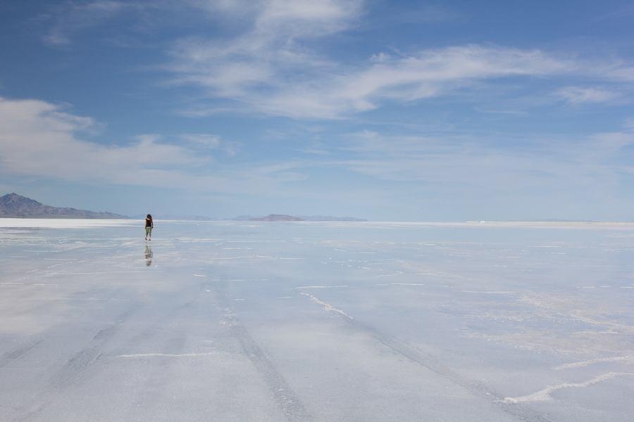 Woman Salt Flat
