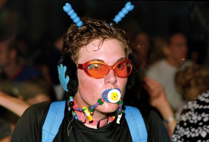 90s Rave Fashion