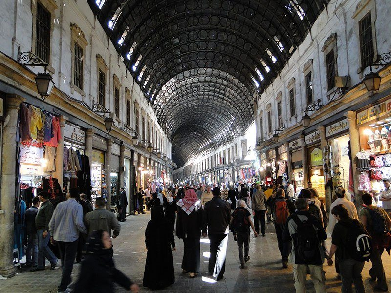 Al Hamidiyah Souq In Damascus In 2010