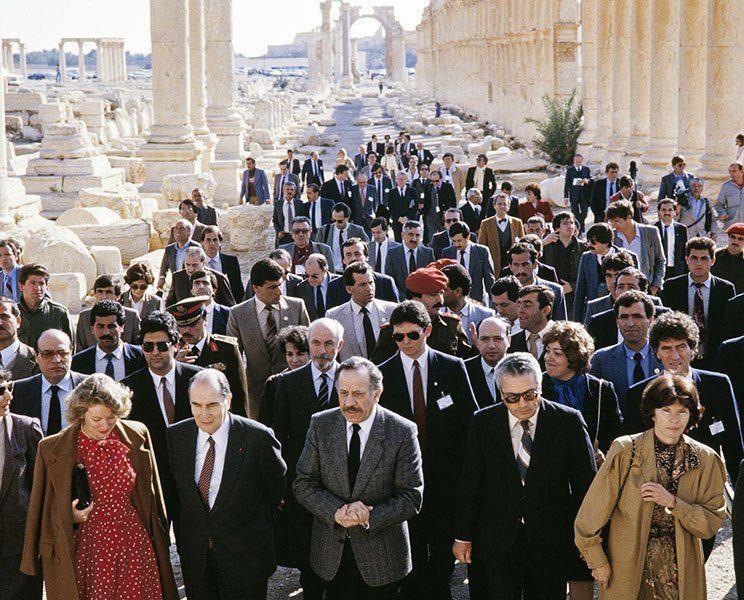 SYRIA FRANCE PALMYRA