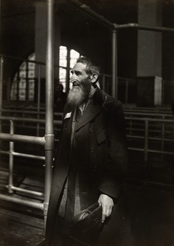 Jew From Russia At Ellis Island