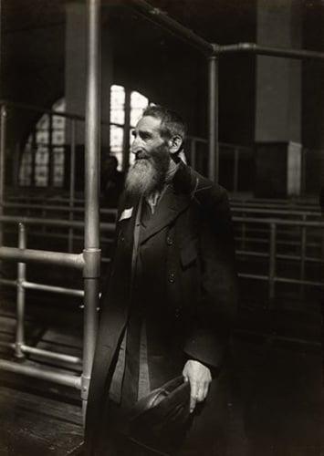Jew From Russia At Ellis Island