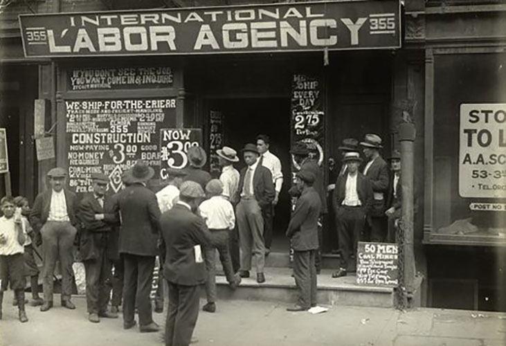 Labor Agency, Lower West Side