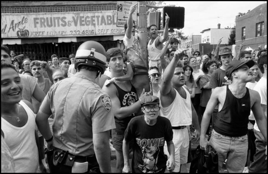 Protests In Bensonhurst In 1988