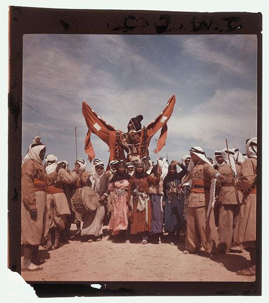 [Romani Men And Women Staging A Bedouin Wedding, Syria