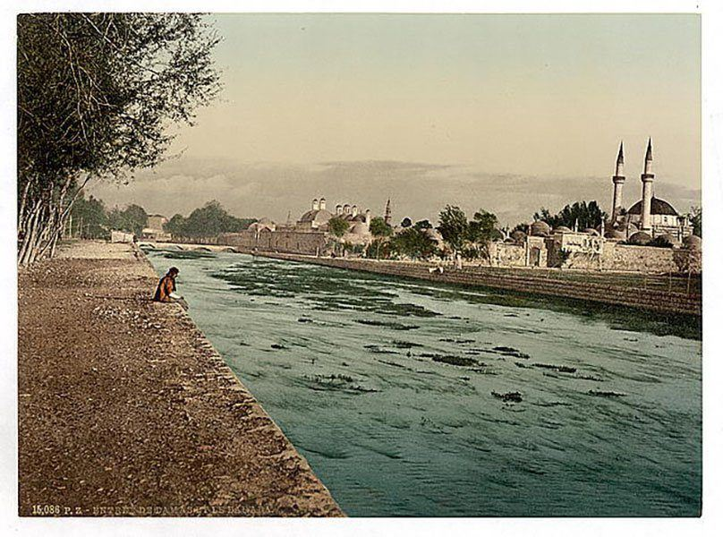 [The Stream Of Barada, Damascus, Holy Land, (i.e. Syria)]