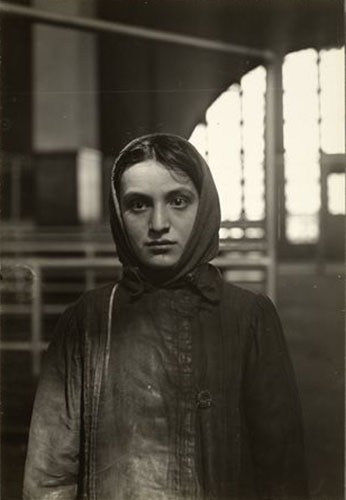 Young Russian Jew At Ellis Island