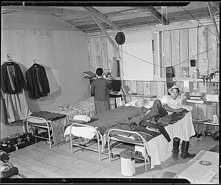 Barracks Salinas Assembly Center