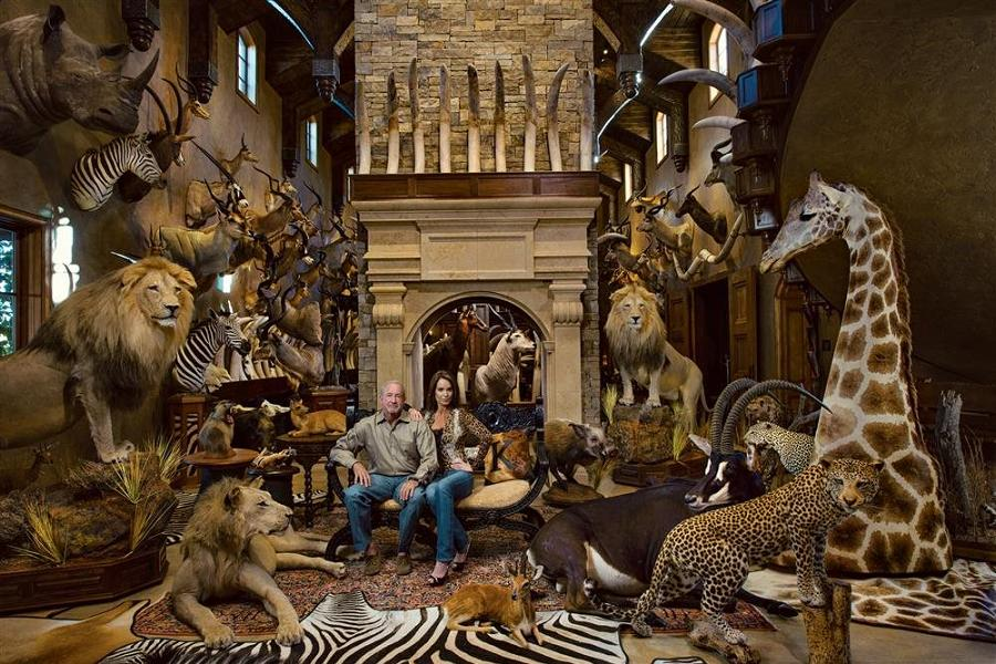Big Game Trophy Room