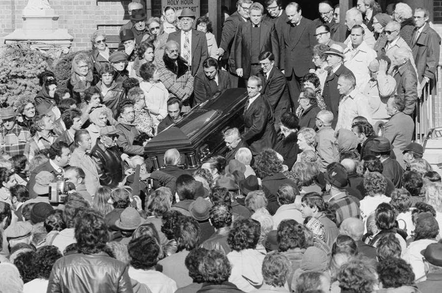 Carlo Gamdino Funeral