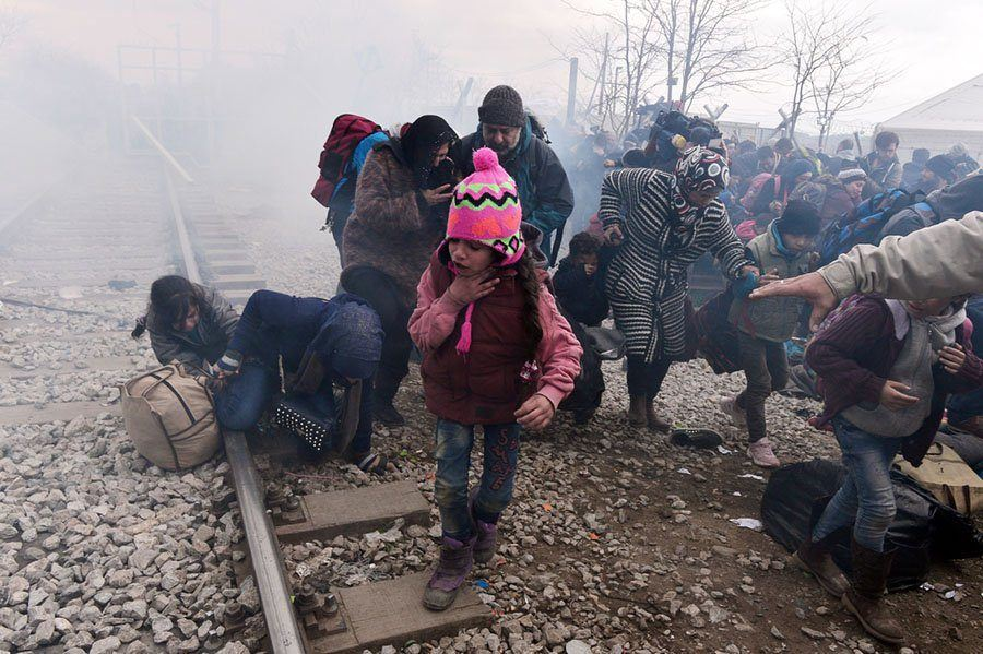 Child Tear Gas