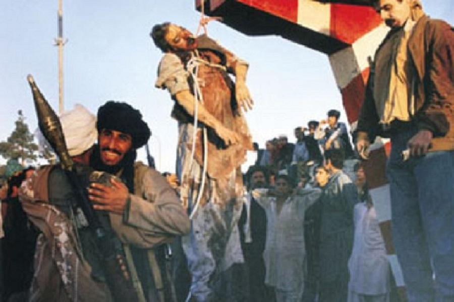 President Najibullah's Hanging