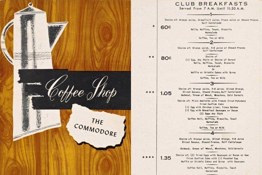 Commodore Coffee Shop