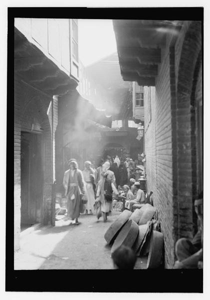 Crowded Street Market