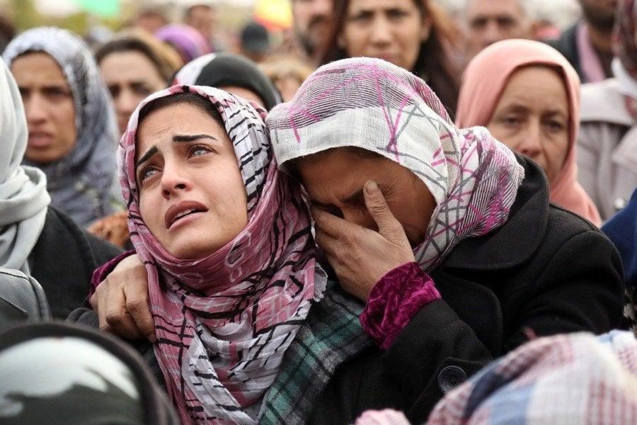 Crying Women