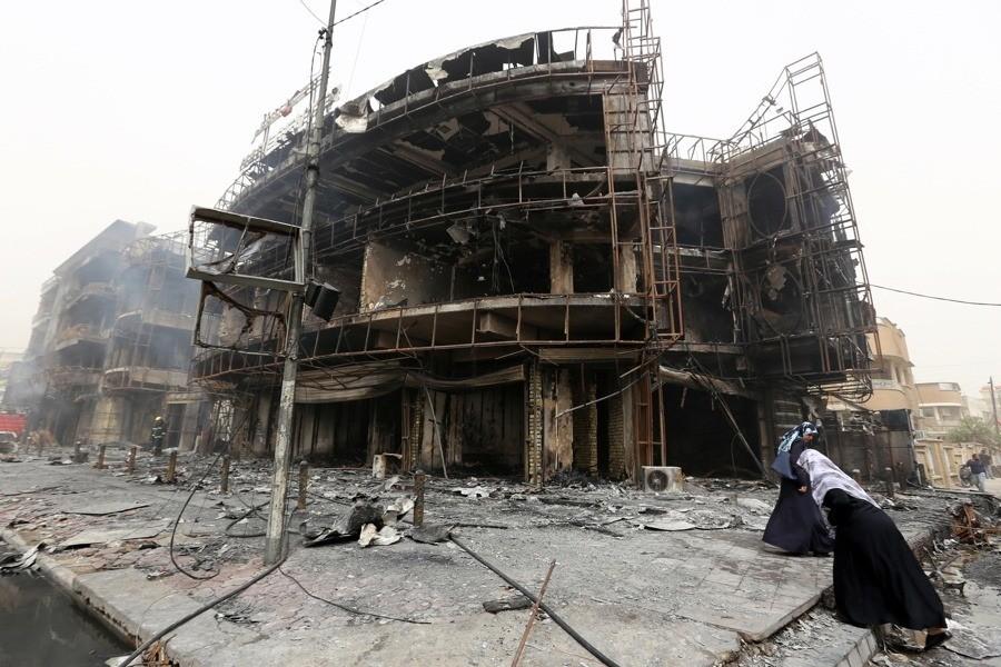 Destroyed Buildings Corner