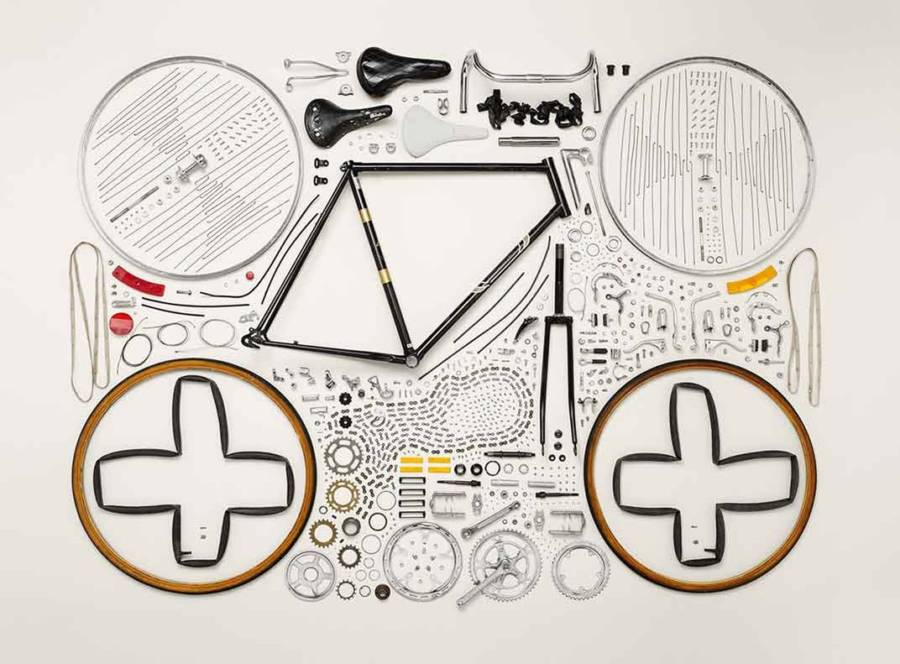 Disassembled Bike