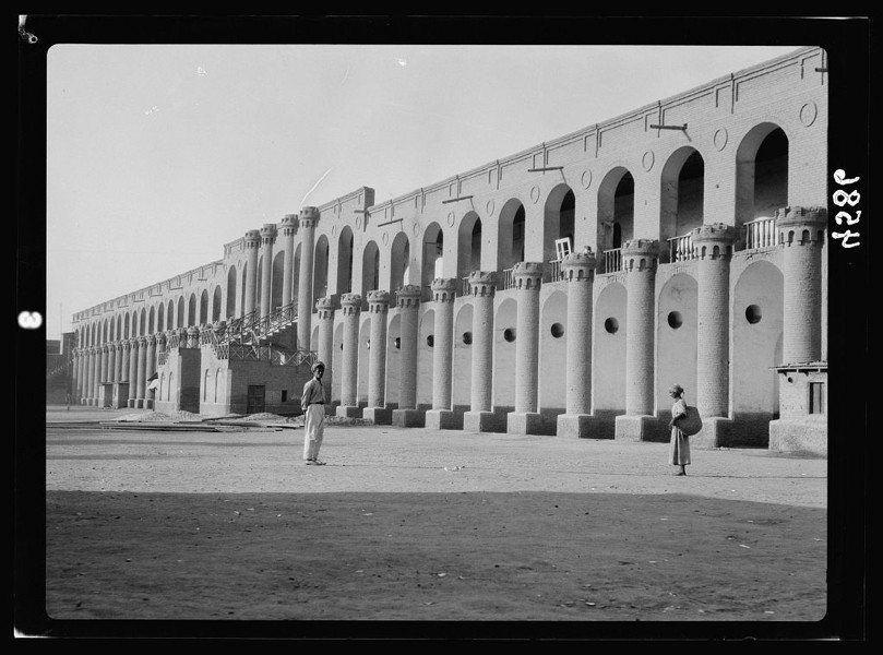Enormous Building Columns