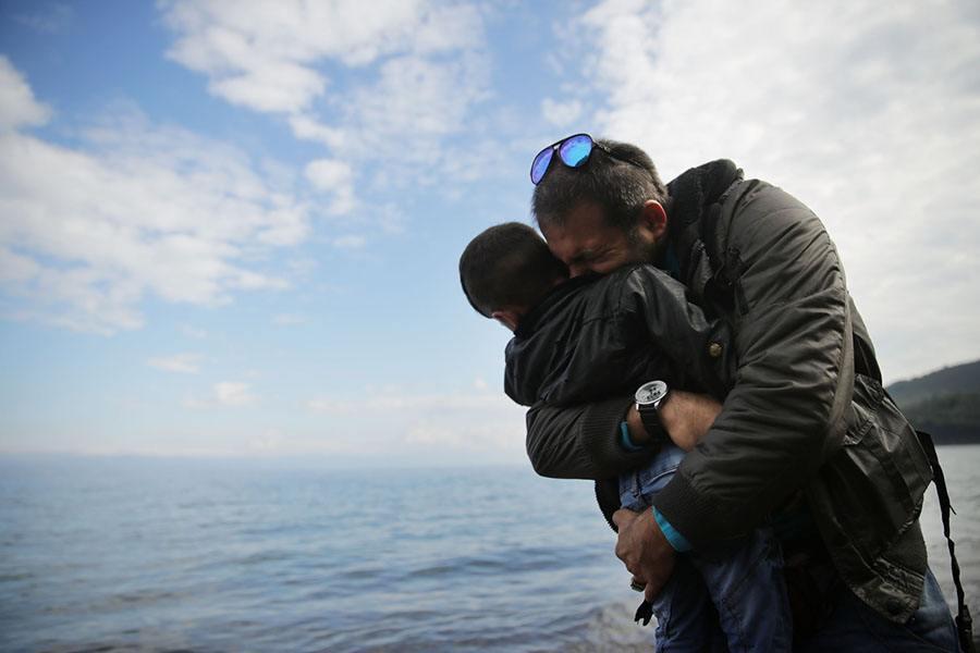Father Hug