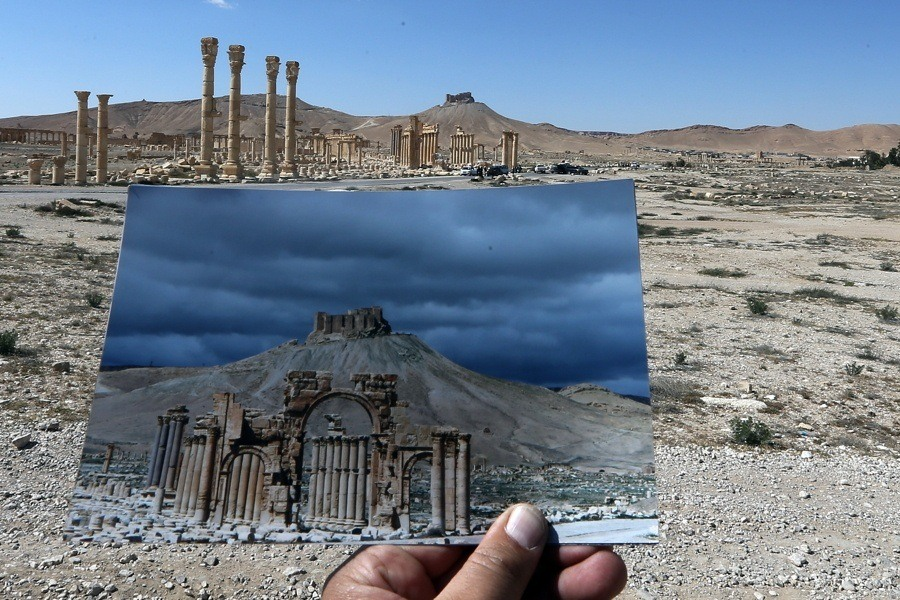 Foreground Photo And Ruins