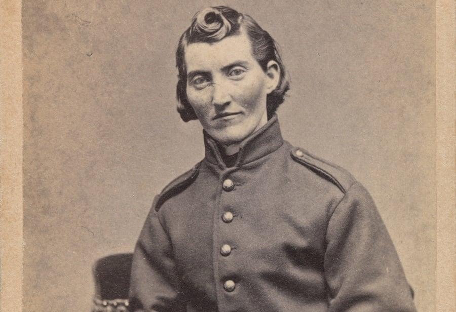 Frances Clayton In Uniform