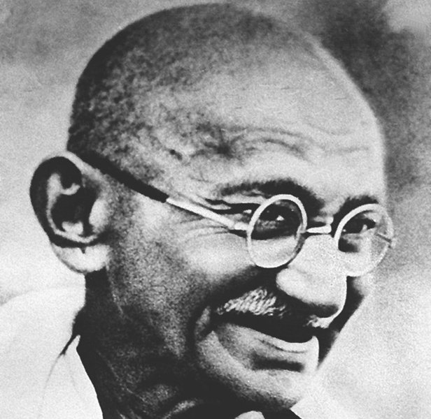 Gandhi Facts Portrait
