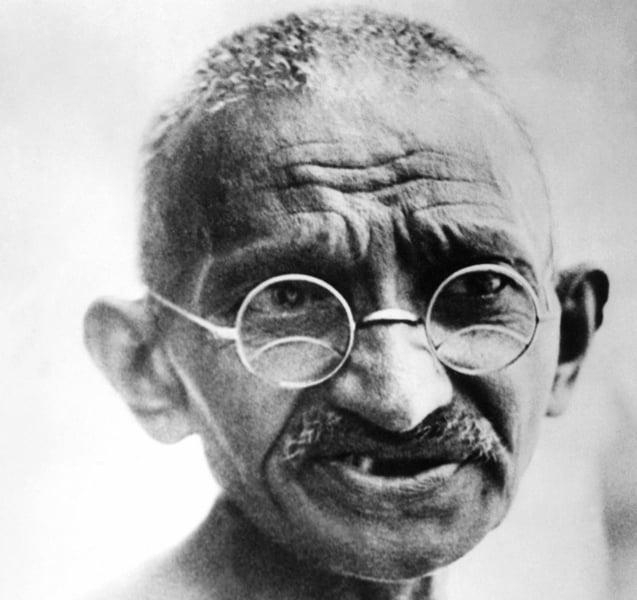 Gandhi Facts Portrait