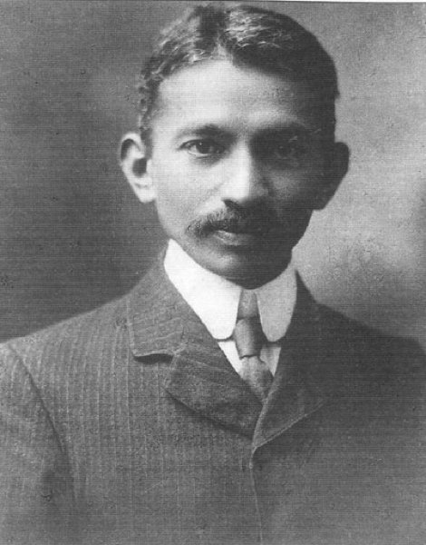 Gandhi In A Suit