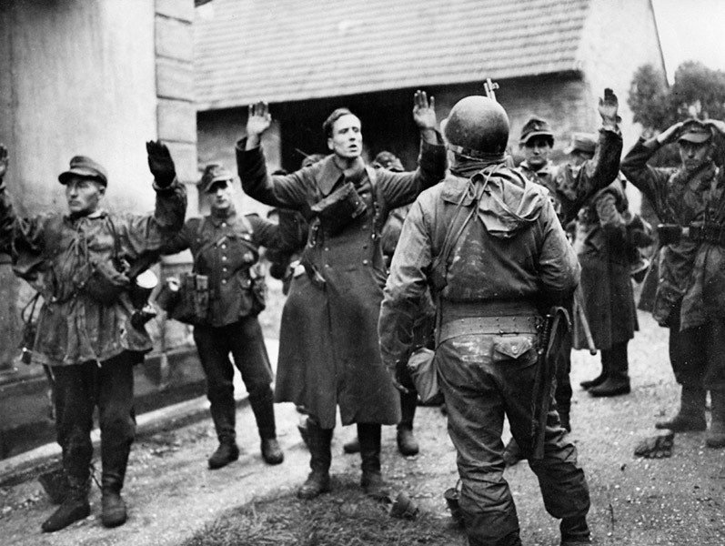 Germans Surrendering