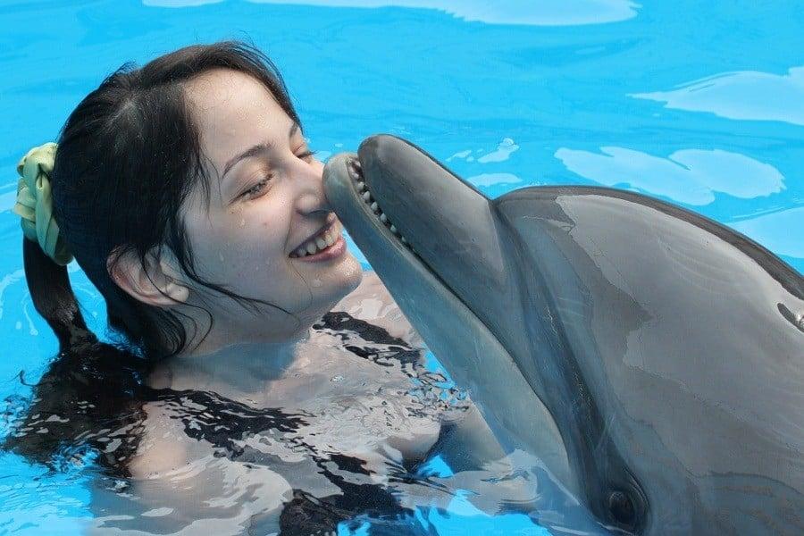 Girl Dolphin