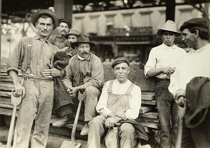 Italian Street Laborers