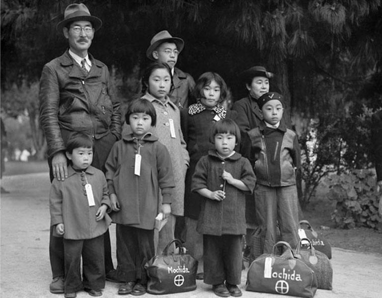 Japanese Internment Family Bags