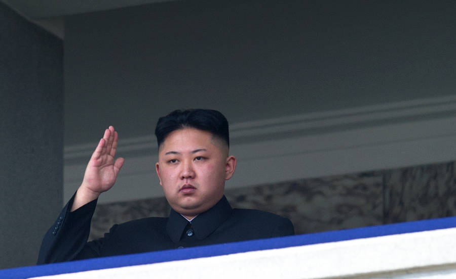 Kim Jong Un Balcony