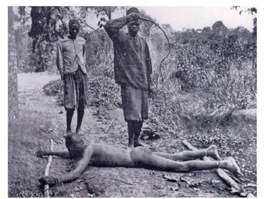 Whipping Under King Leopold II
